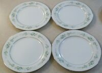 SET OF 4  NORITAKE SPRING VALLEY 2221  SALAD / DESERT PLATES  about 8 1/4 inches