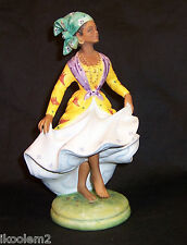 HN2384- Royal Doulton - West Indian Dancer - LE 669/750 Dancers of the World