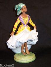 Hn2384- Royal Doulton - West Indian Dancer - Le 669/750 Dancers of the World