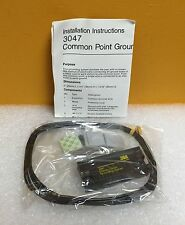 3M 3047 Common Point Grounding System, includes 10' Cable, Terminal Strip, New