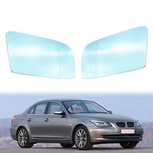 Right & Left side Door Mirror Glass Heated For BMW E60 E61 528i 535i 550i 525i