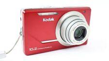 KODAK EasyShare M380 10.2MP Digital Camera 5x Zoom ~Red~