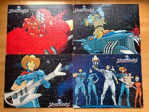 FOUR Silverhawks Puzzles (1986)