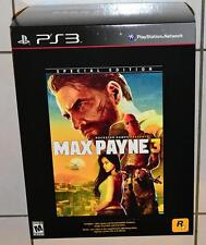 Max Payne 3 Special Edition Sony PlayStation 3, ps3, Brand New and Sealed