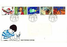 GB NOV 1981 FIRST DAY COVER CHRISTMAS STAMPS MANCHESTER KELLOGGS SOUVENIR COVER