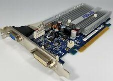 ASUS NVIDIA GeForce 8400 GS Silent DVI VGA Windows 10 PCIe x16 Video Card