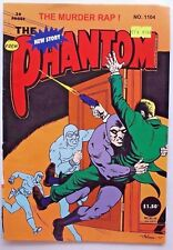 THE PHANTOM COMIC ISSUE #1104 - 36 PAGES - NEW STORY - THE MURDER RAP 🌟AS NEW🌟