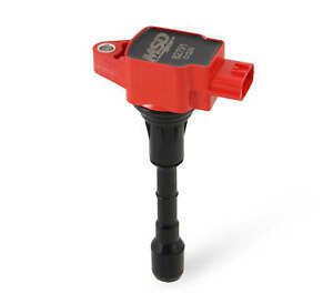 82791 MSD Ignition Coils Blaster Series, 2007-2020 Nissan/Infiniti 3.5L, Red,