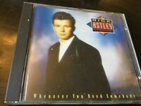 RICK ASTLEY - WHENEVER YOU NEED SOMEBODY - CD ALBUM - NEVER GONNA GIVE YOU UP +