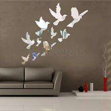 Stylish Cherry Plum Blossom Flowers & Butterflies Wall Stickers Home Db6906 UXX