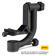 Benro GH2 Aluminum Gimbal Tripod Head with PL100 Plate Universal Head For Camera