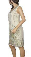 Lush Bird 1920's Gatsby fully embellished shift dress from size 8 to PLUS SIZES