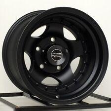 15 inch Wheels Rims FITS: Nissan Pickup Truck Toyota Chevy 6x5.5 Lug AR23 15x10