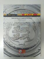2011 COMMUNITY SHIELD FOOTBALL PROGRAMME MANCHESTER CITY V MANCHESTER UNITED