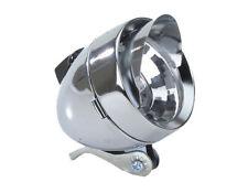 NEW!! Bicycle Bike LOWRIDER Bullet Light W/Visor 1/Bulb 777 Chrome  PART CHOPPER