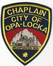 Chaplain Opa-Locka Police State Florida FL