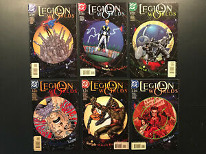 Legion Worlds # 1, 2, 3, 4, 5, 6  ...starring The Legion of Super-Heroes (2001)