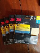4 Packs! 3M Sanding Disc with Stikit Attachment 03111, 80 Grit, 5 inch Disc