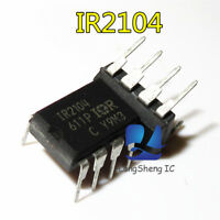 5 PCS IR2104 DIP-8 HALF-BRIDGE DRIVER new