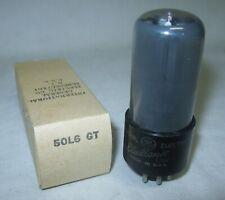 (1) New GE 50L6GT Radio Vacuum Tube Tested 100%+ 50L6 GT