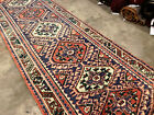 2x10 ANTIQUE RUNNER RUG vintage hand-knotted wool geometric tribal 2x9 3x10 3x9