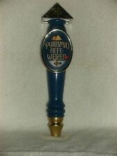 """COLLECTIBLE PYRAMID HEFE WEIZEN ALE  BEER TAP PULL 11.5"""""""