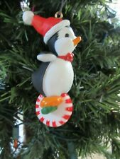 HALLMARK CHRISTMAS Ornament Lot of 5 Penguin Polar Jogger Winter Surprise TV