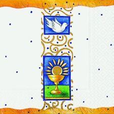 Serviette 33 x 33 cm Kommunion / Konfirmation (Paper & Design; #Serviette Tis...