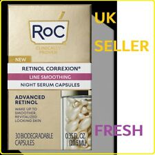 RoC Retinol Correxion Line Smoothing Night Serum Capsules Deep Wrinkle x 30