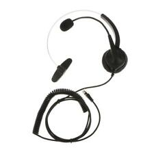 VH530 Office Insurance Call Center Headset With Mic Noise-Canceling RJ9 Plug