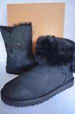 NIB UGG Australia Women's Bailey Button Boots Size 8 in Black NEW