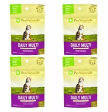 4-Pack Pet Naturals of Vermont Daily Multi Vitamin for Cats 30 Chews 1.32oz X 4