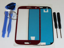 SAMSUNG GALAXY S3 i9300 i9305 FRONT GLAS TOUCH SCHEIBE TOUCHSCREEN DISPLAY ROT