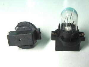 Single Unit Ford Visteon Speedometer T10 Black Socket and Bulb F4UZ13B765A