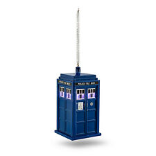Doctor Who TARDIS LIGHT UP ROTATING COLORS CHRISTMAS ORNAMENT Kurt Adler BBC