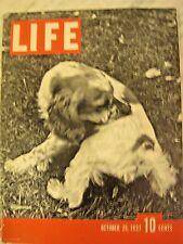 LIFE Oct 25 1937   Spain Civil War, Brady Gang, Japan invades China BOURKE-WHITE