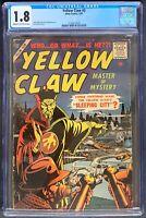Yellow Claw #3 CGC 1.8 Atlas Comics 1957