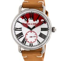 Jekyll and Hyde Bloody Steel Quartz 42mm Mens Watch Strap 42-03R-RE