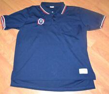 OHSAA Ohio High School Athletic Association Sewn Logo Polo Golf Shirt Large XL