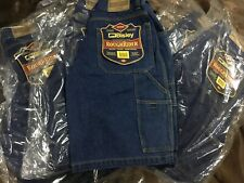 (Pack of 5) Bisley Work Shorts Cargo Denim Blue Roughrider Size 82 RRP $40