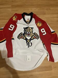 Autographed Stephen Weiss AUTHENTIC Reebok FLORIDA PANTHERS NHL HOCKEY JERSEY 56