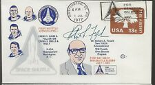 1977 Dr Robt A French Named Shuttle Administrator, Autographed by Dr French!