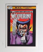 MVC Wolverine 1  Card #133  1990 Impel Marvel Universe Series 1 Trading Card