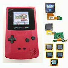 Nintendo Game Boy Color GBC System Backlight Backlit Brighter Mod Berry