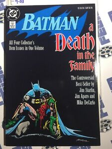 Batman: A Death in the Family TPB Collects #426 to #429 (1988) [9011]