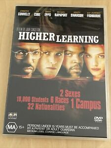 Higher Learning (DVD, 1995) Great Condition Region 4 Jennifer Connelly