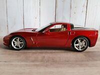 Maisto 2005 Chevy Corvette C6 Coupe 1:18 Scale Diecast Model Car