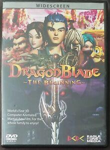 DragonBlade: The Beginning DVD Anime ( Karen Mok, Daniel Wu )