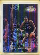 1998-99 Topps Gold Label Card Tim Duncan San Antonio Spurs Near Mint # GL 7