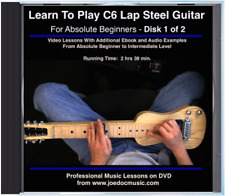 Learn To Play C6 Lap Steel Guitar DVD#1 - Beginner Lessons Chords Scales Songs +